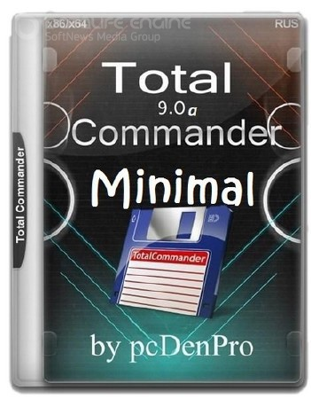 Total Commander 9.0a - Minimal v6 Portable by pcDenPro [Rus/02.01.2017]