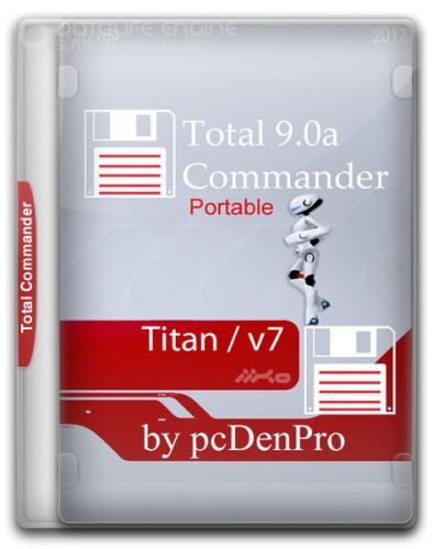 Total Commander 9.0a - Titan v7 Portable by pcDenPro (2017/RUS)
