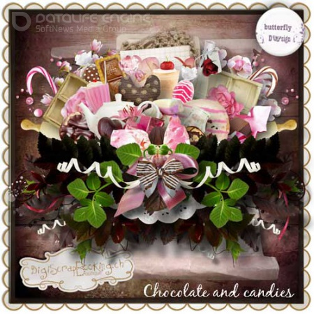 Scrap - Chocolate and Candies
