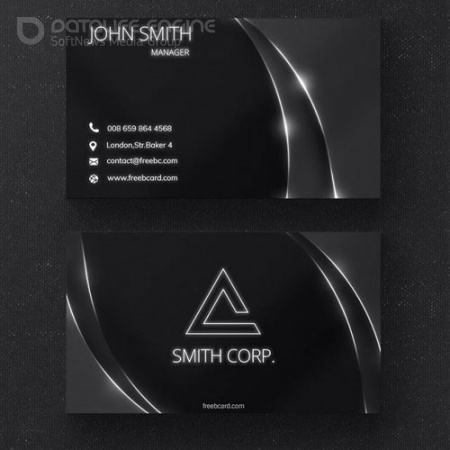 White ray - business card