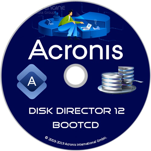 Acronis Disk Director 12 Build 12.5.163 BootCD