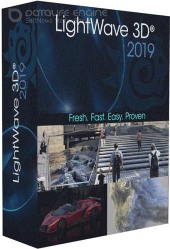 NewTek LightWave 3D 2019.0.2 Build 3116