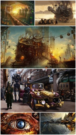 Steampunk wallpapers (Part 5)