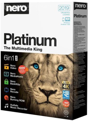 Nero Platinum 2019 Suite 20.0.07900 + Content Pack