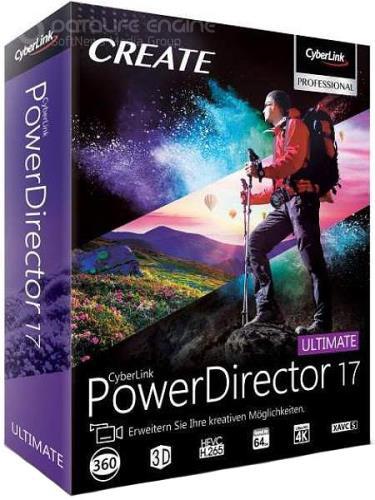 CyberLink PowerDirector Ultimate 17.6.3125.0 + Rus