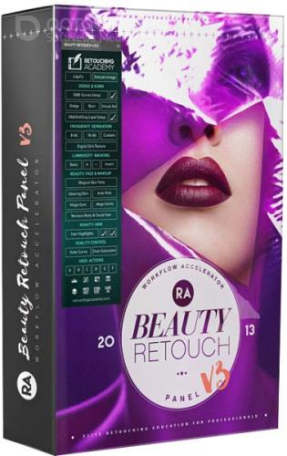 RA Beauty Retouch Panel 3.3 + Pixel Juggler 2.2