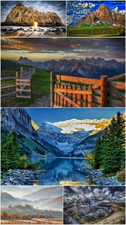 Landscapes Mountains (Pack 72)