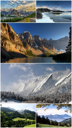 Landscapes Mountains (Pack 73)