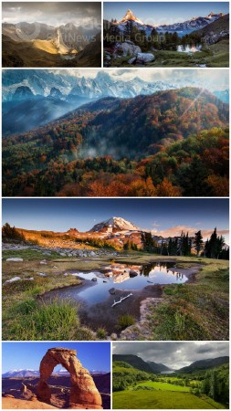 Beautiful landscapes HD collection 13