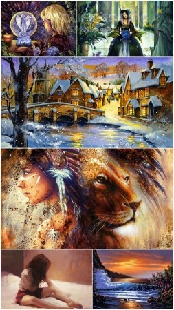 Beautiful painting art collection 8