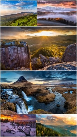Beautiful landscapes HD collection 33
