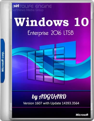 Windows 10 Enterprise 2016 LTSB Version 1607 with Update 14393.3564 by adguard v.20.03.11 (x64/RUS)