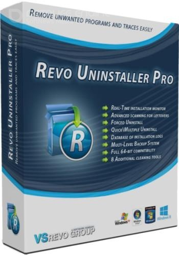 Revo Uninstaller Pro 4.3.0 RePack & Portable by KpoJIuK